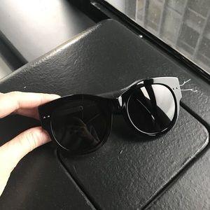 Bottega Veneta Black Sunglasses BV0007SK 001 54/21